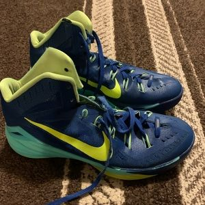 Retro Nike basketball shoes